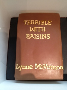 The cake version of Terrible With Raisins