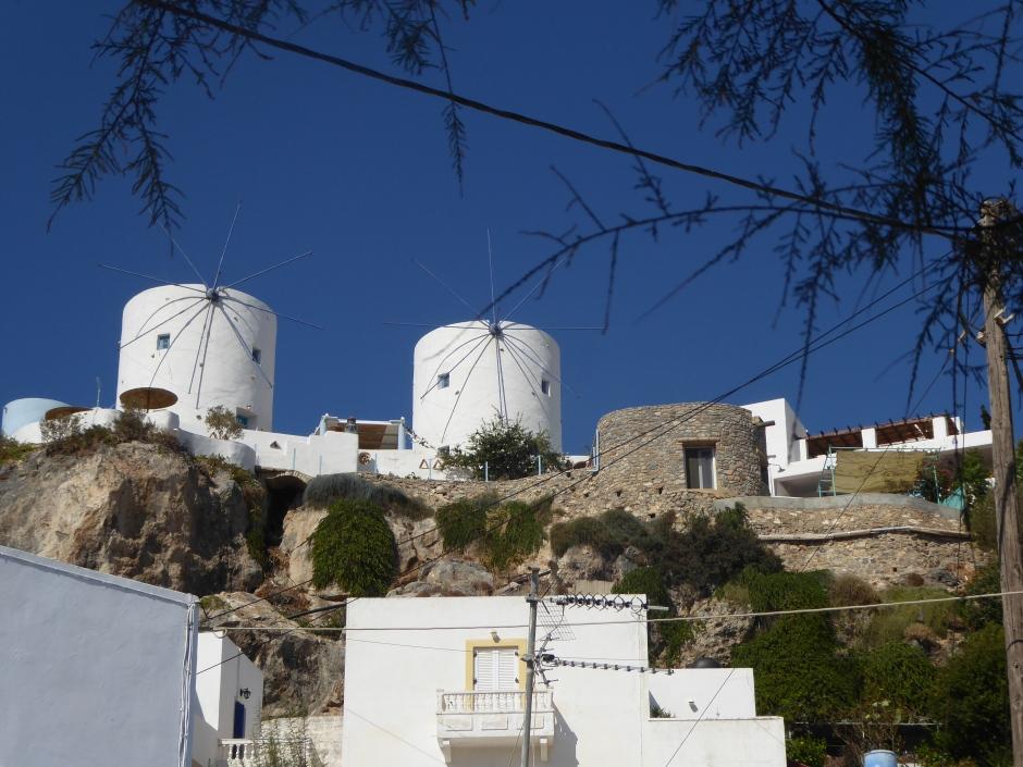 Windmills in Leros