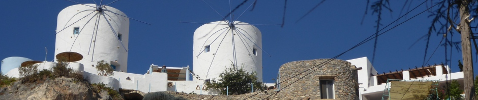 Windmills in Leros